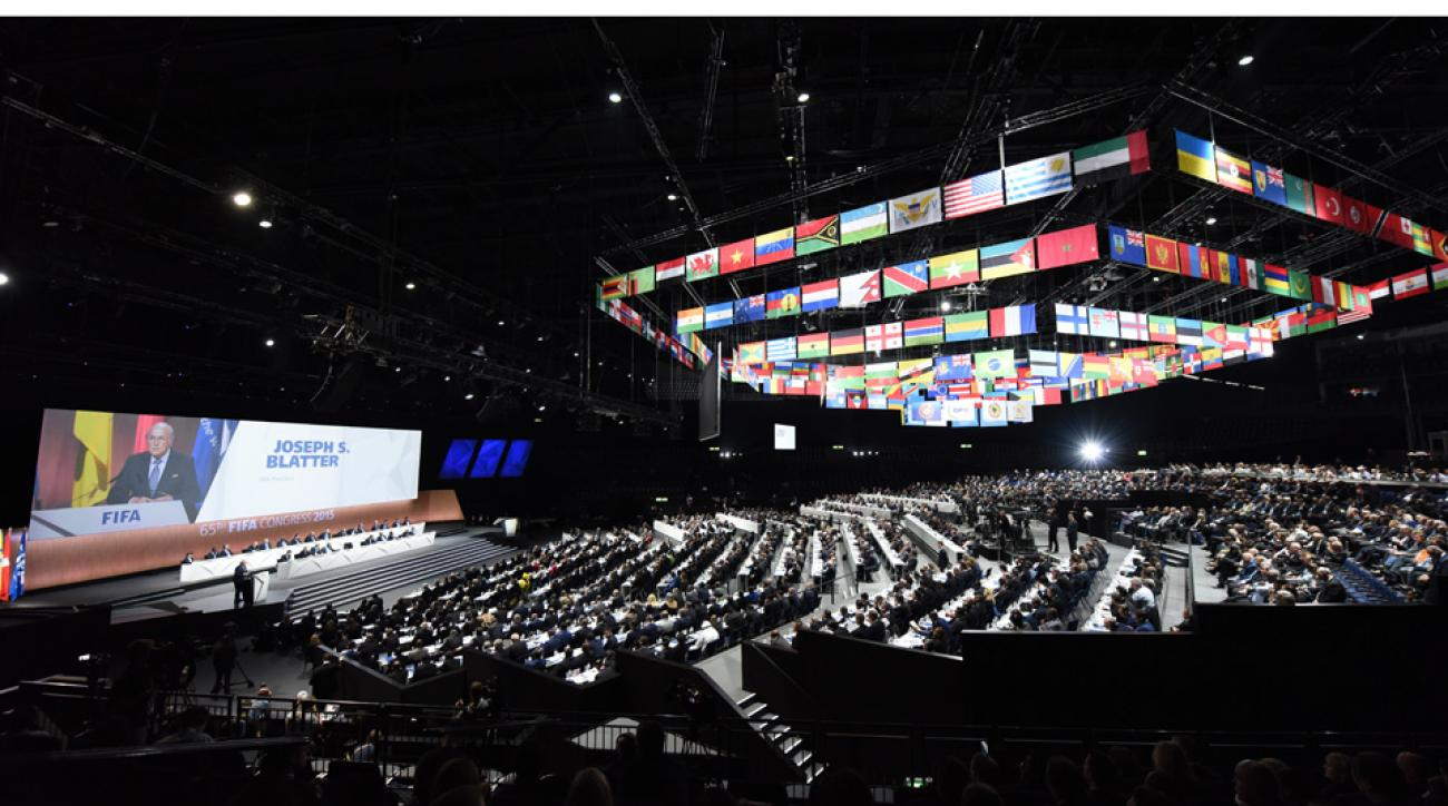 Bomb threat made against FIFA Congress