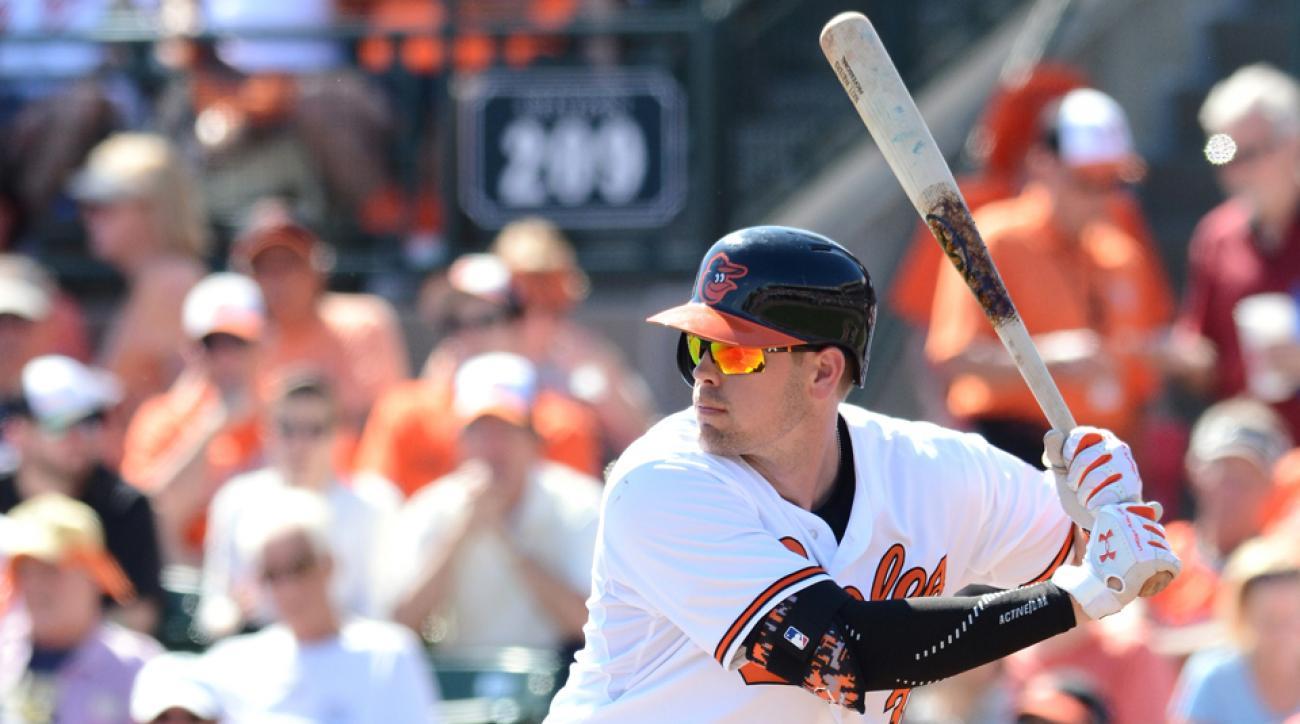 Baltimore Orioles Matt Wieters injury return