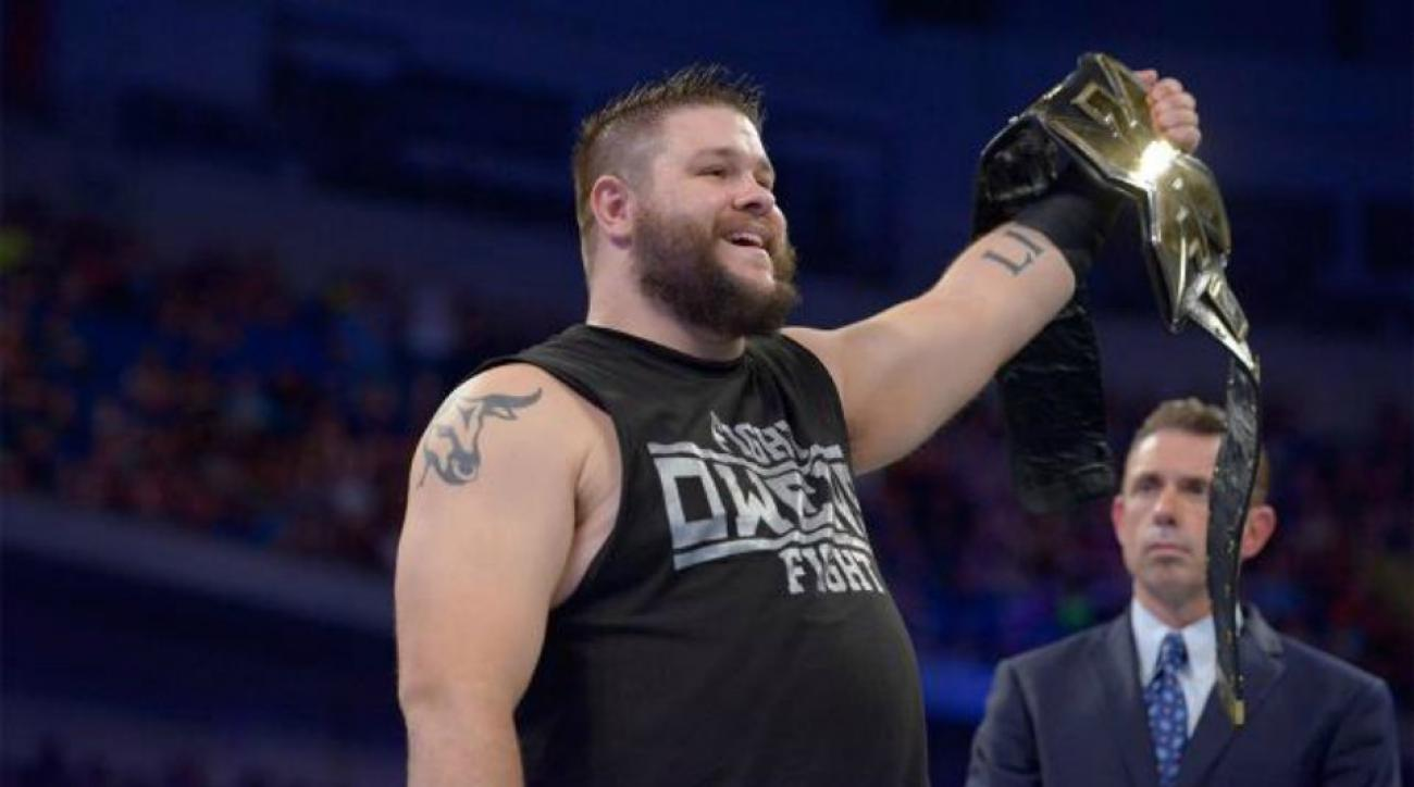 Kevin Owens talks about his big WWE debut against John Cena