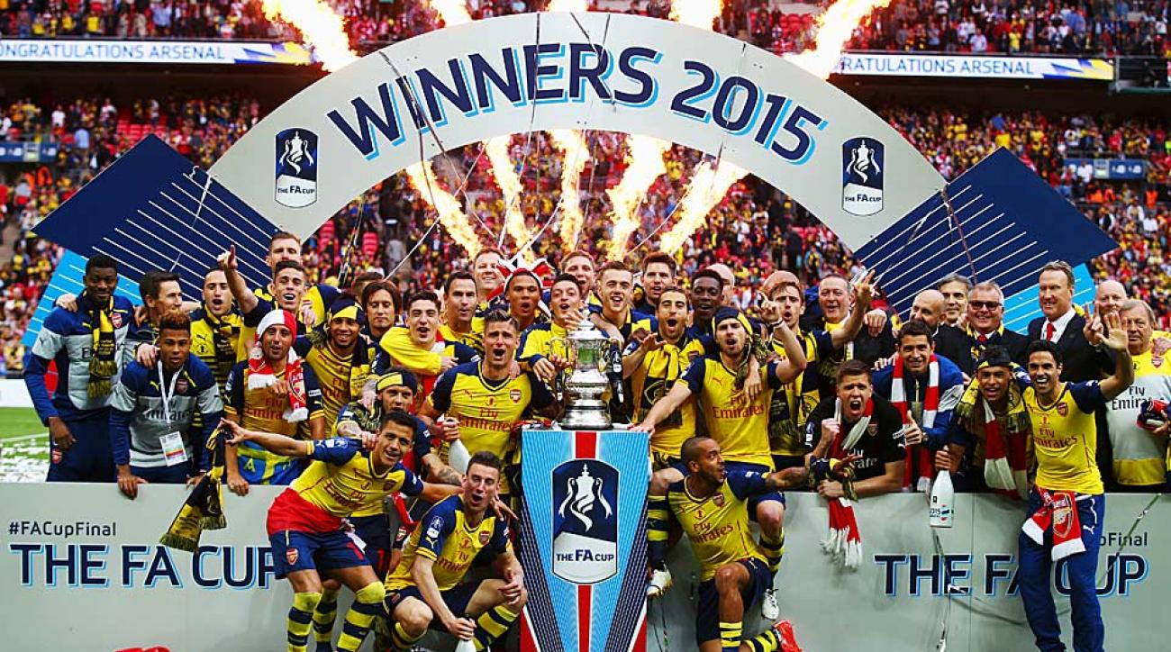 Arsenal wins 2015 FA Cup Final