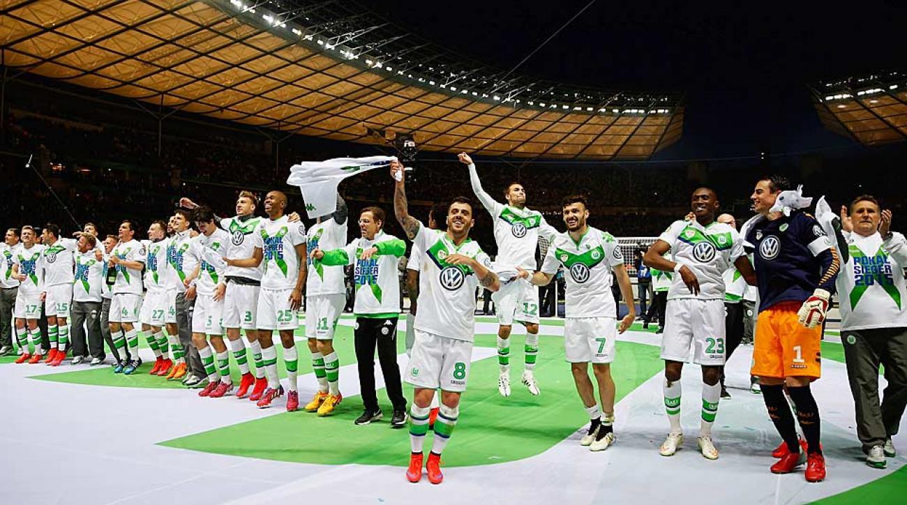 Wolfsburg wins German Cup