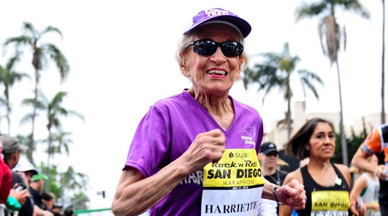 92 year old marathon runner harriette thompson san diego