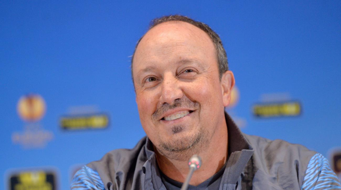 real madrid manager rafael benitez
