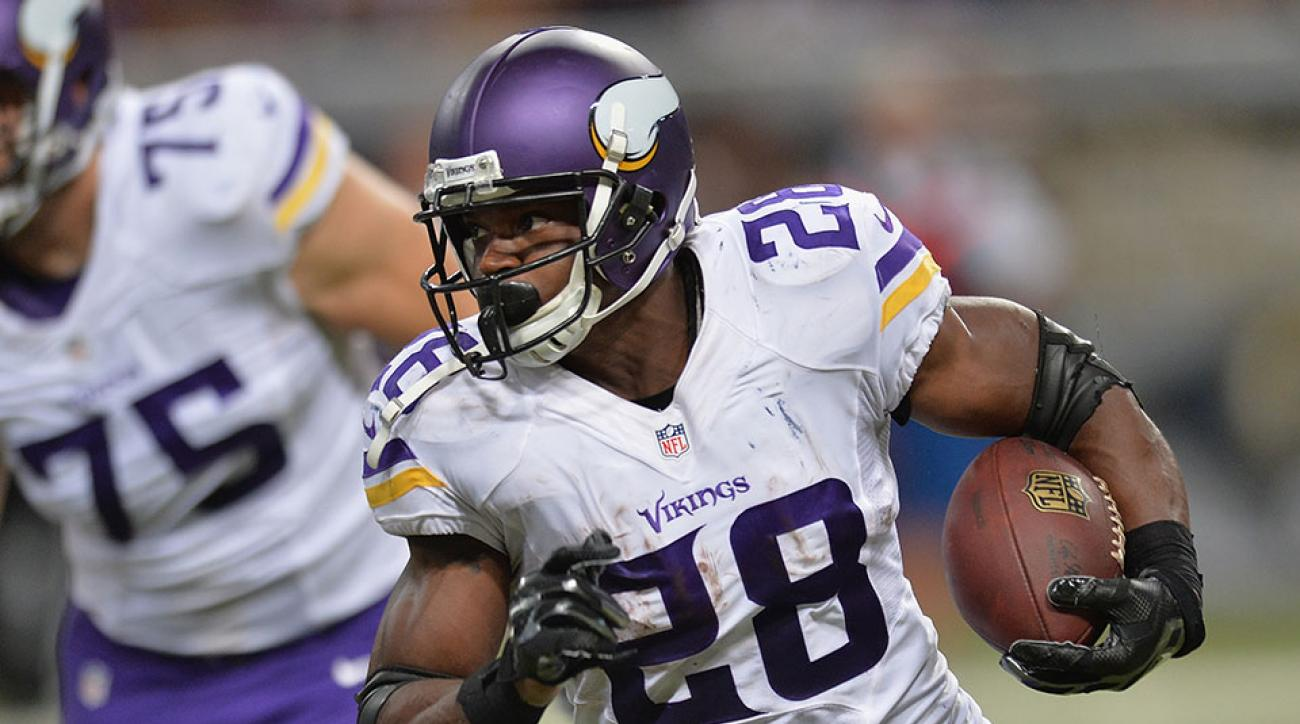 Minnesota Vikings Adrian Peterson return