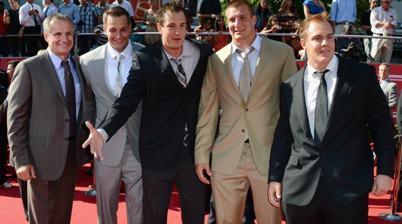 The Gronkowski family will be appearing on Family Feud