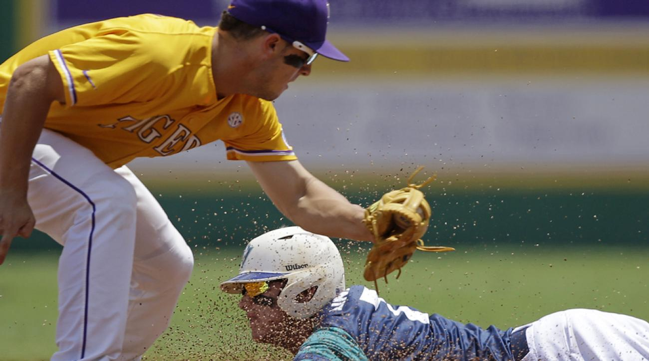 ncaa baseball college world series super regional