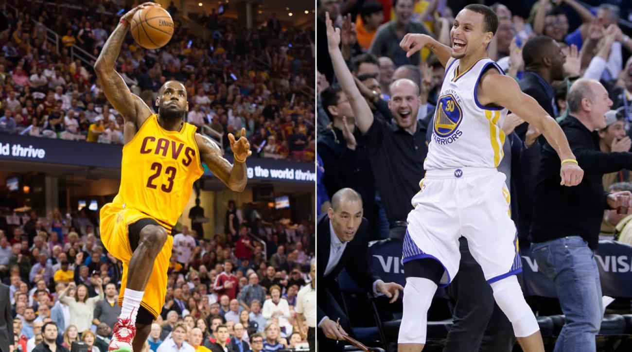 Defaults Done. LeBron James and Stephen Curry ...