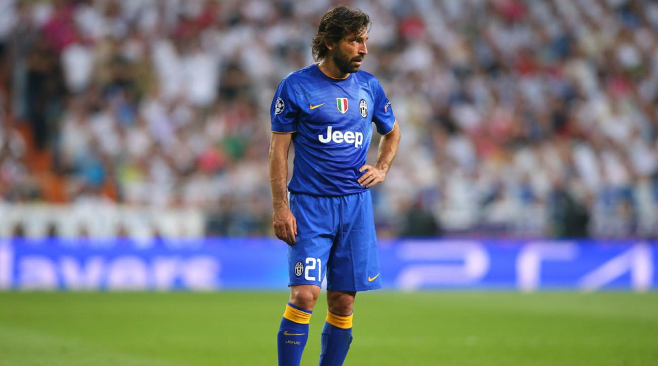 Report: Juventus's Andrea Pirlo agrees to join NYCFC this summer