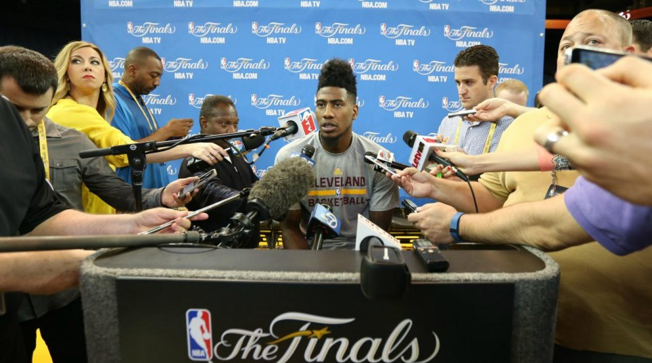 Cavaliers' Iman Shumpert does not like Jimmy Kimmel's Guillermo