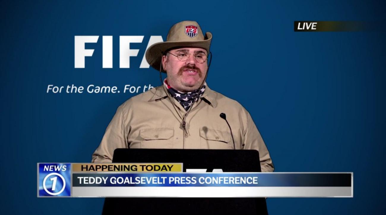 Teddy Goalsevelt running for FIFA president