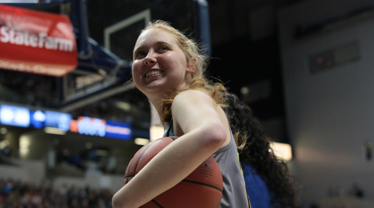 Lauren Hill will be honored by the Indiana Fever.