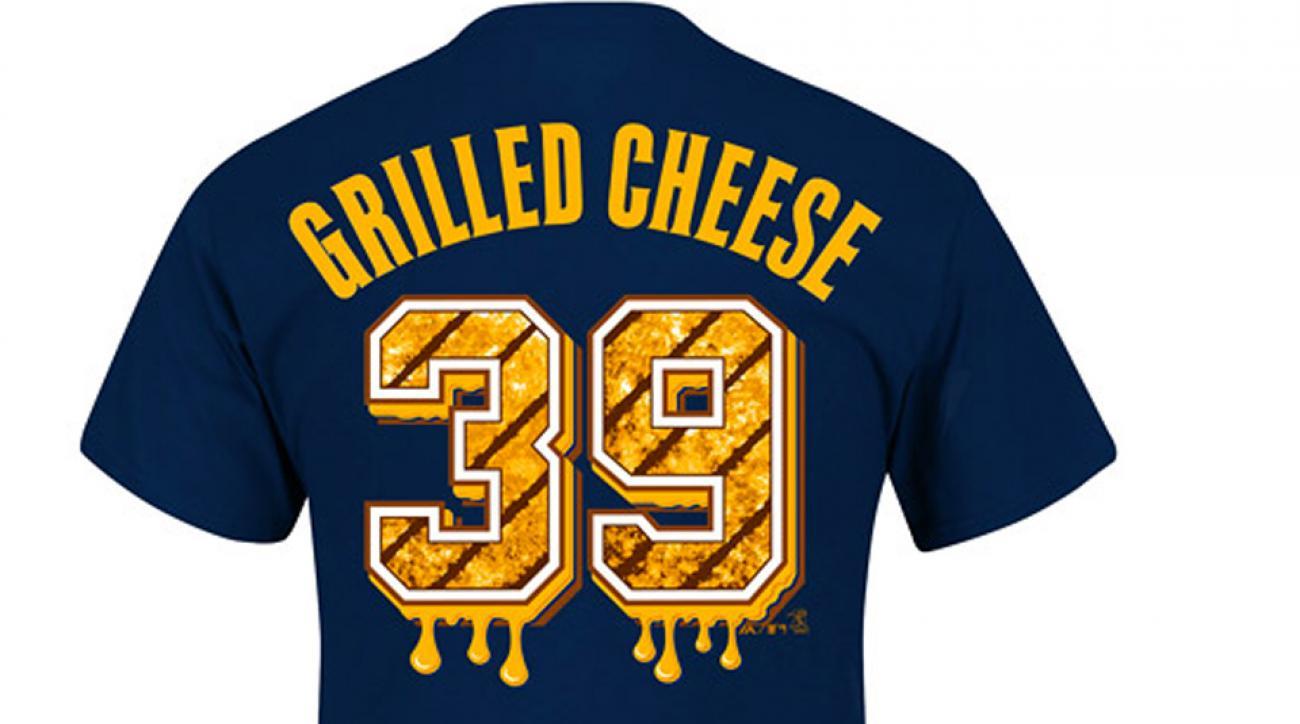 Atlanta Braves Jason Grilli Grilled cheese shirt