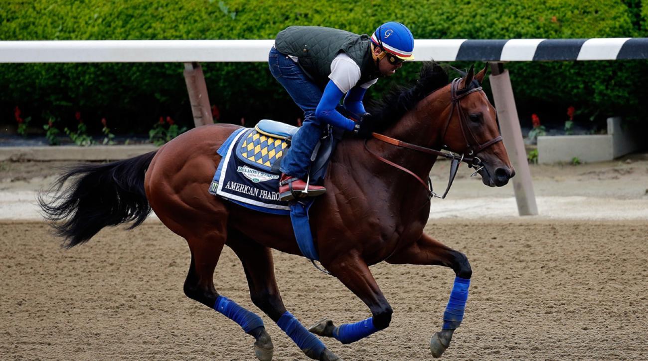 American Pharoah Belmont odds betting favorite