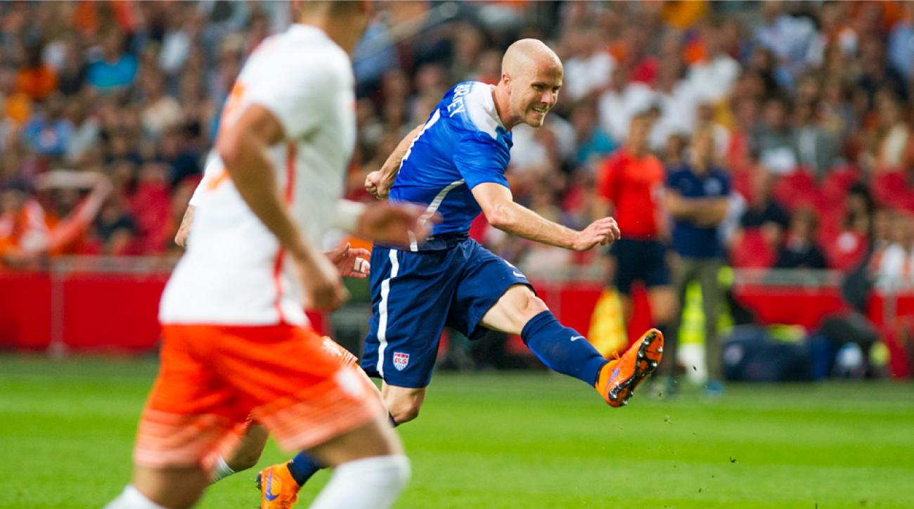 Michael Bradley, USA vs. Netherlands