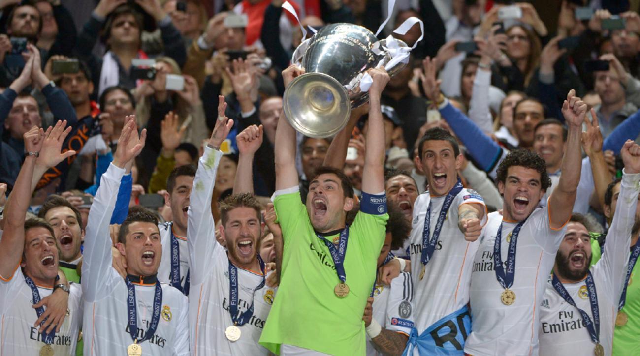 Champions League winners history Real Madrid