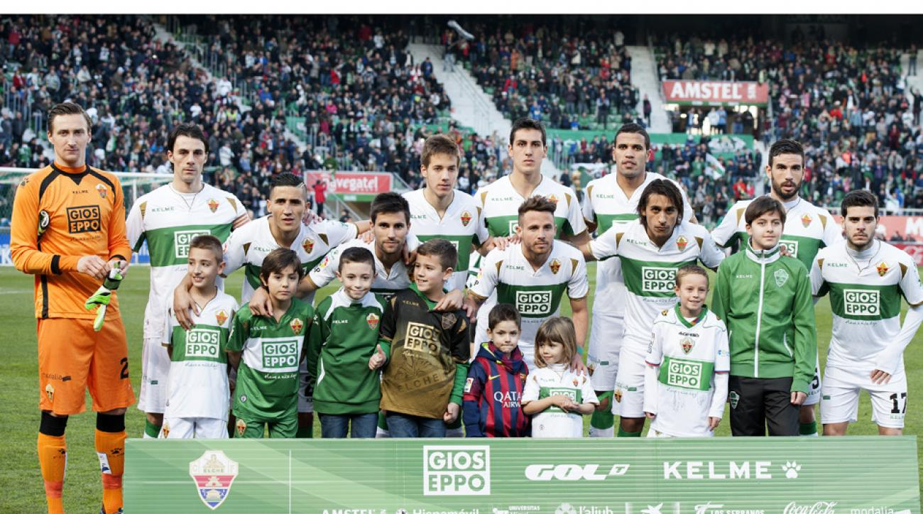 Elche relegated in La Liga