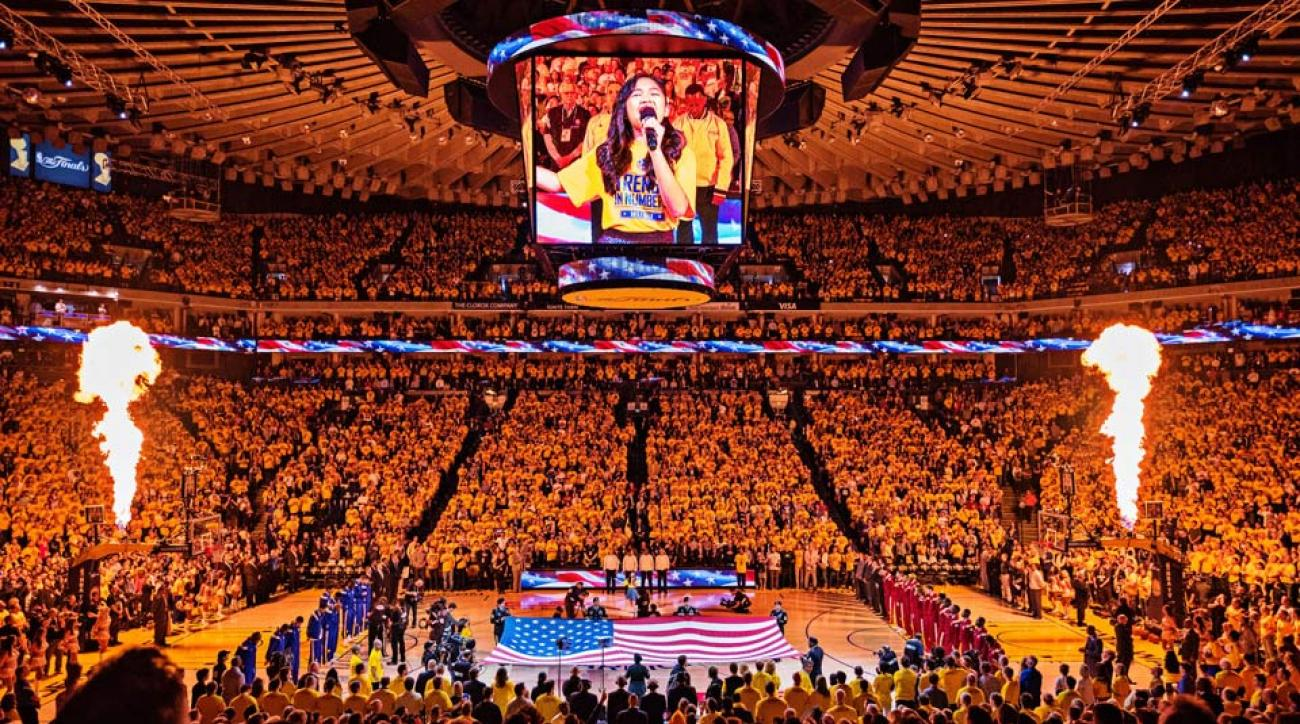 State warriors oracle arena and oakland alameda county coliseum - Oracle Arena Brings The Noise For An Nba Finals Worth Screaming About