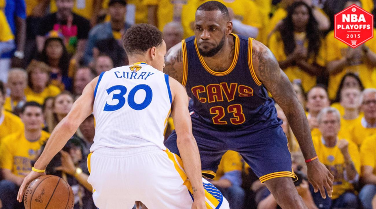 Stephen Curry, Warriors beat LeBron James, Cavaliers in Game 1 of NBA Finals.