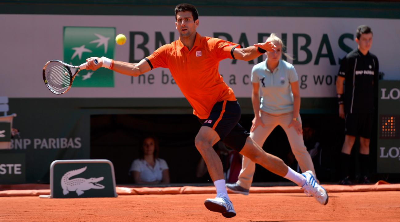Novak Djokovic will meet Stan Wawrinka in the French Open final.