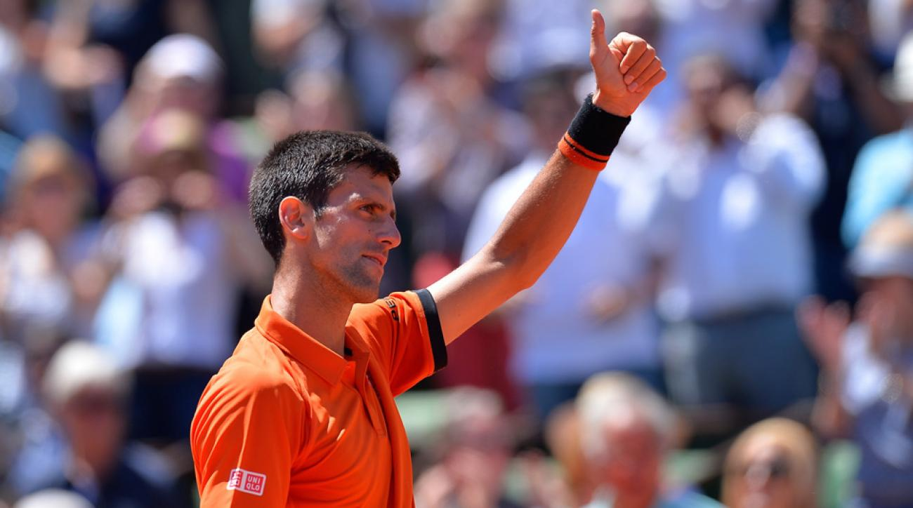 Novak Djokovic is catching up to Roger Federer and Rafael Nadal in Grand Slams.