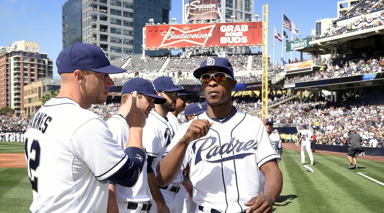 padres melvin upton foot injury season debut