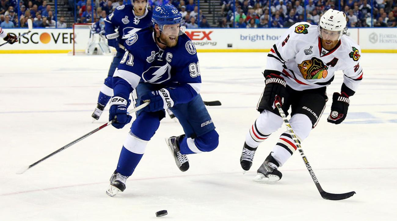 Stanley Cup finals schedule Blackhawks Lightning