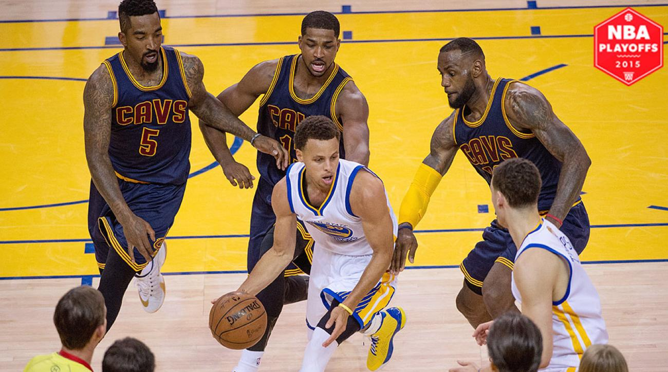 Cavaliers stifle Warriors in Game 2 as LeBron James\u0027s brilliance continues