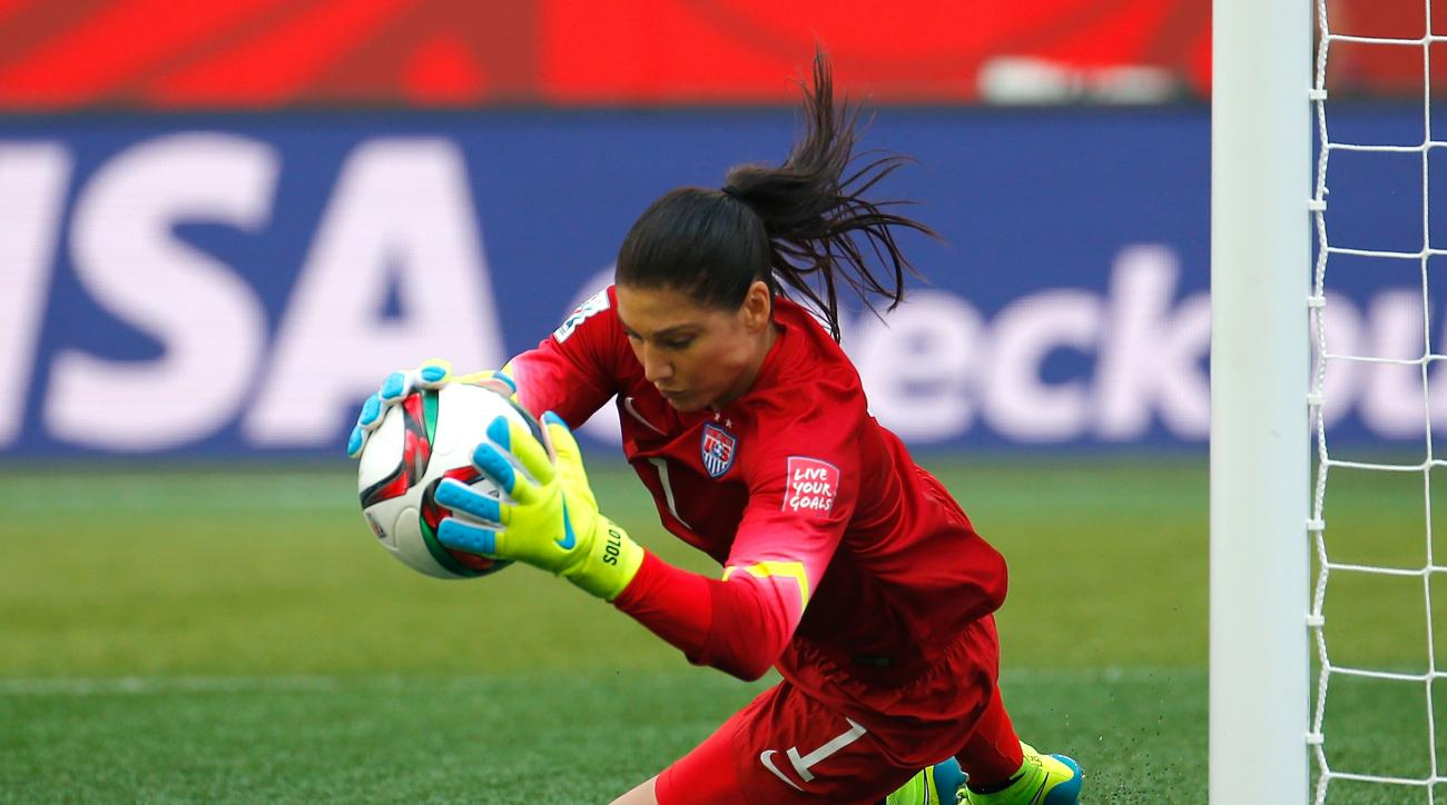 womens world cup hope solo saves usa australia video