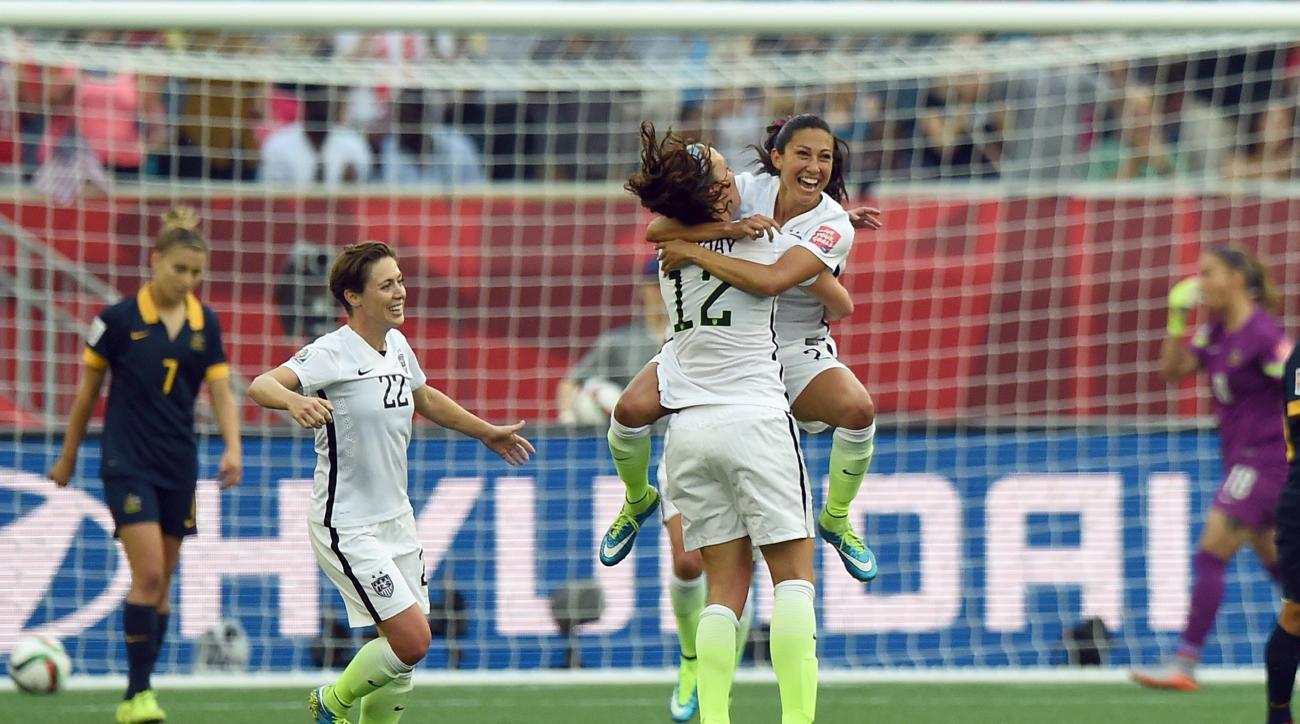 womens world cup usa australia christen press goal video
