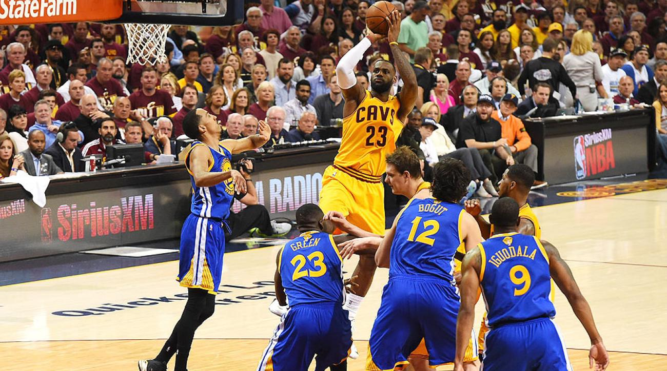 LeBron James sets NBA Finals record with 123 points in ...