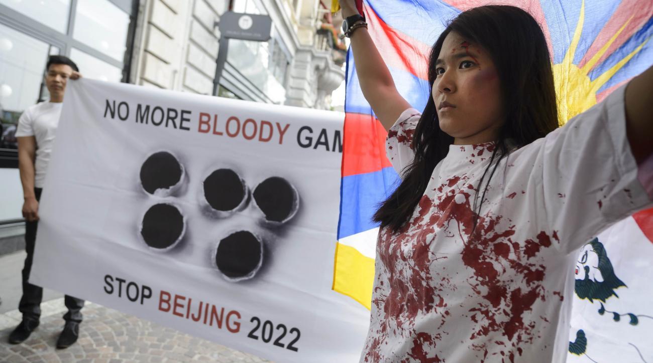 2022 winter olympics beijing tibet protests