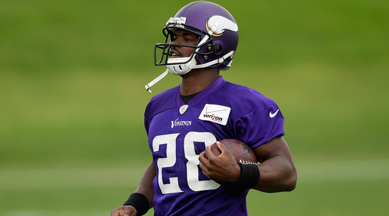 adrian peterson vikings mike zimmer preseason