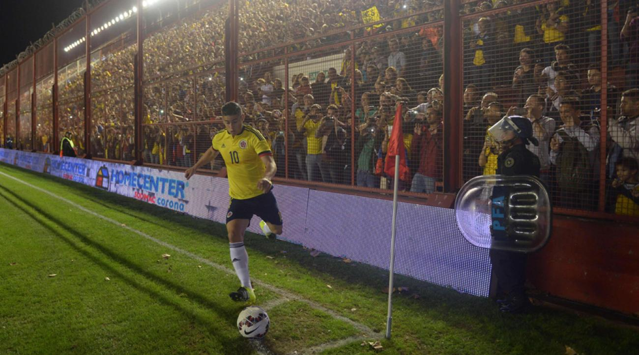 James Rodriguez is among the stars playing in the 2015 Copa America.