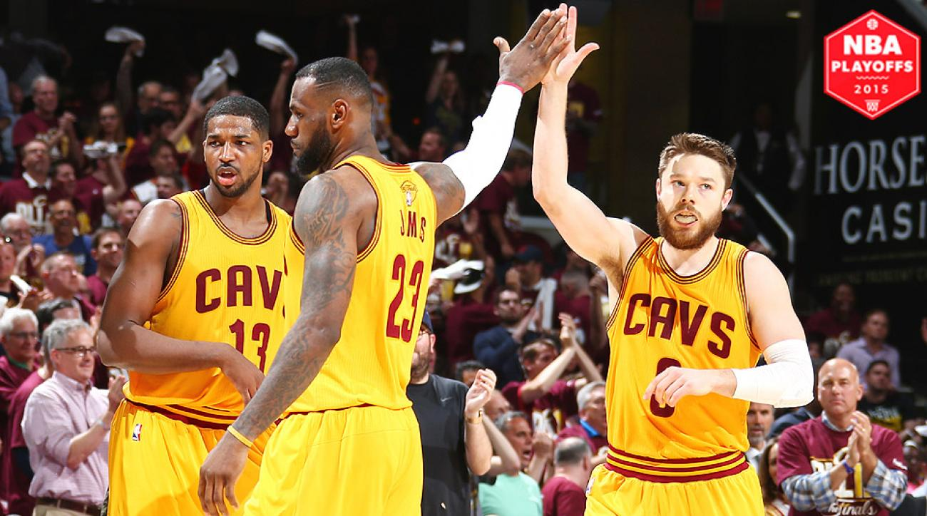 LeBron James, Matthew Dellavedova led the Cavaliers to a Game 3 NBA Finals win against the Warriors.