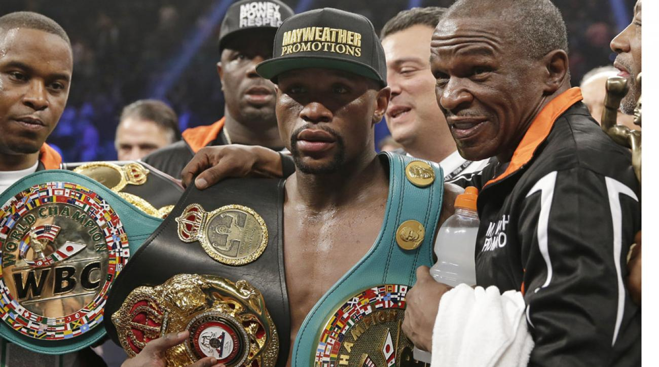 Mayweather is world's highest paid athlete