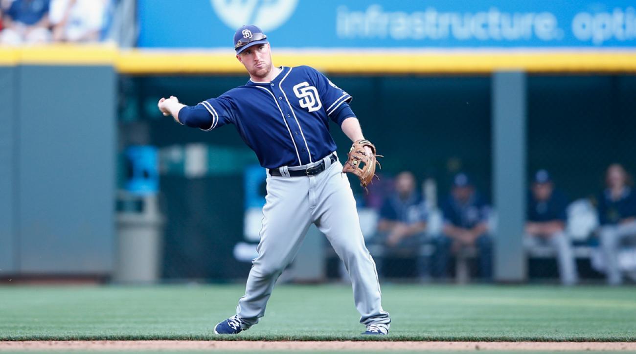 San Diego Padres demote Jedd Gyorko Triple A