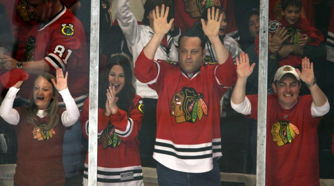 Vince Vaughn bought dinner for the Tampa Bay Lightning coaches