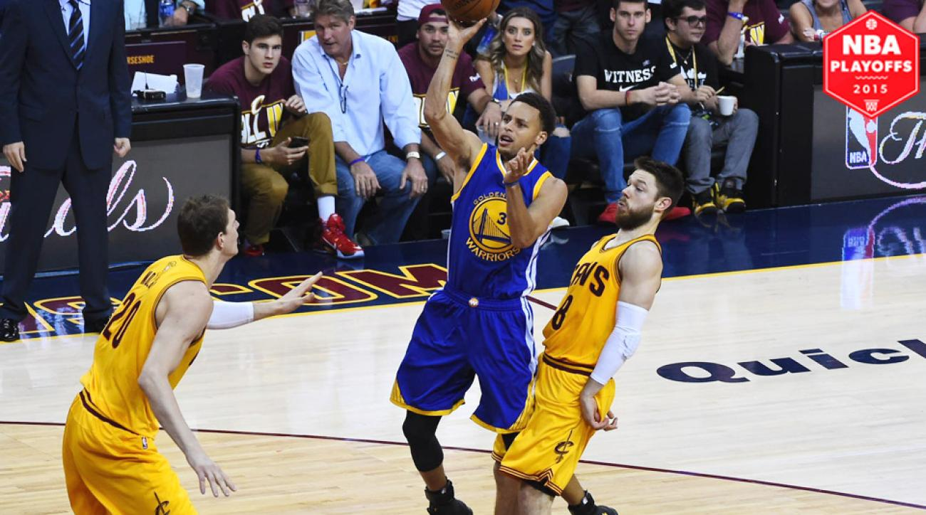 Stephen Curry struggled through three quarters in Warriors' Game 3 Finals loss to the Cavaliers.