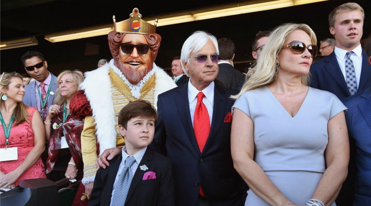 Triple Crown winning trainer Bob Baffert got $200k for posing with Burger King