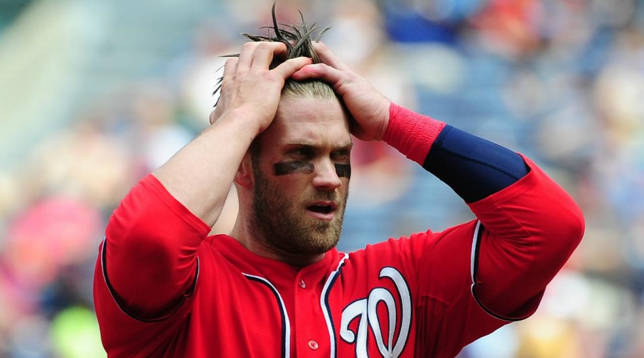 Nationals' Bryce Harper spends a half hour each day on his hair