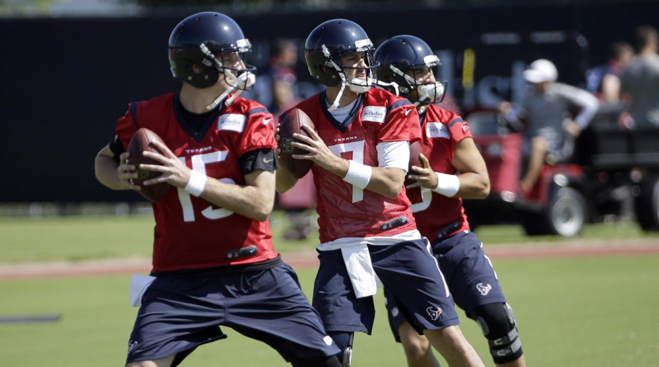 ryan mallett brian hoyer texans training camp