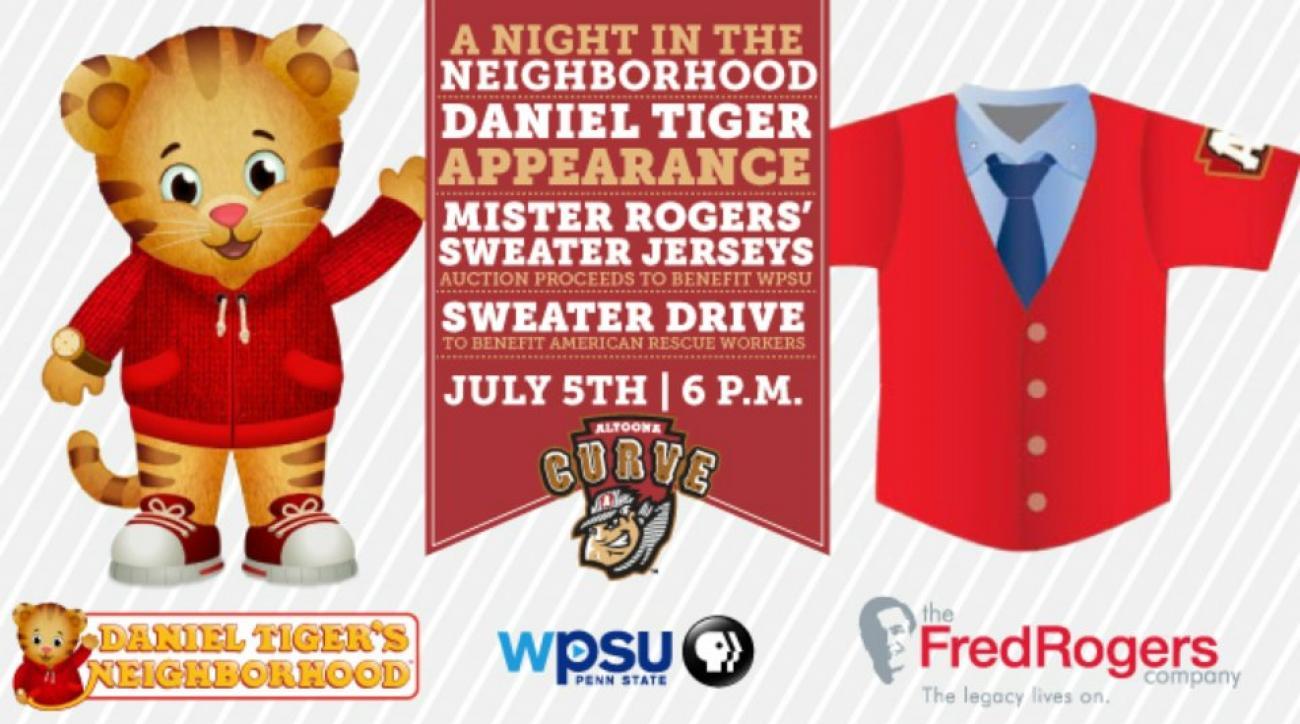 Minor League team to wear Mister Rogers jerseys