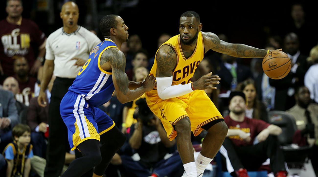 Cavaliers vs Warriors LeBron James Kobe Bryant