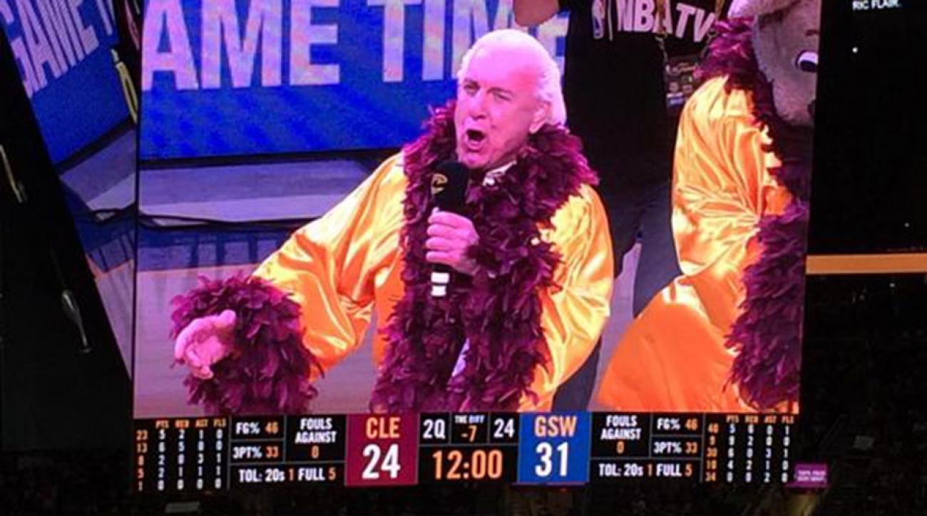Ric Flair Nature Boy NBA Finals Game 4