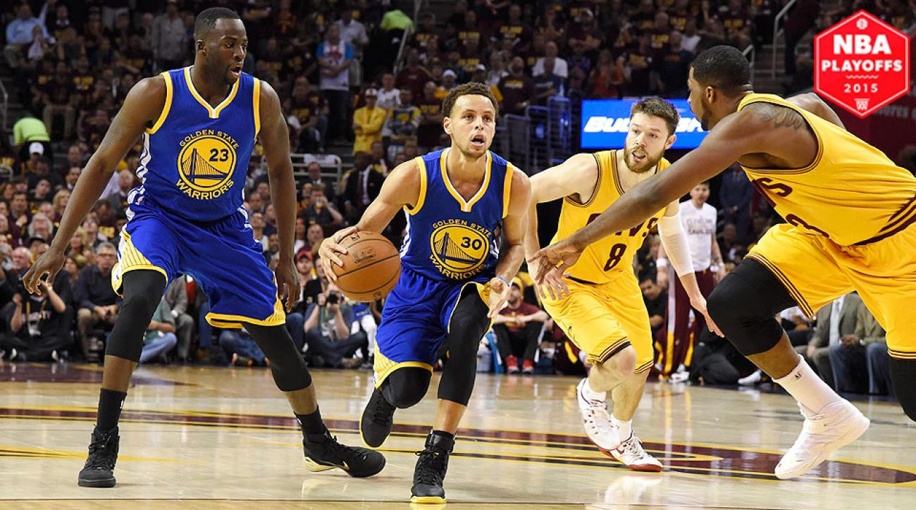 Stephen Curry, Warriors defeated LeBron James, Cavaliers in Game 4 of NBA Finals.