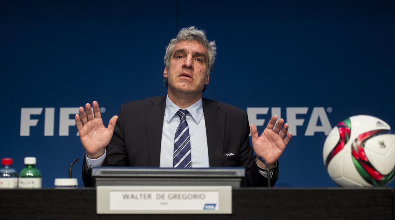 FIFA's Walter De Gregorio resigns