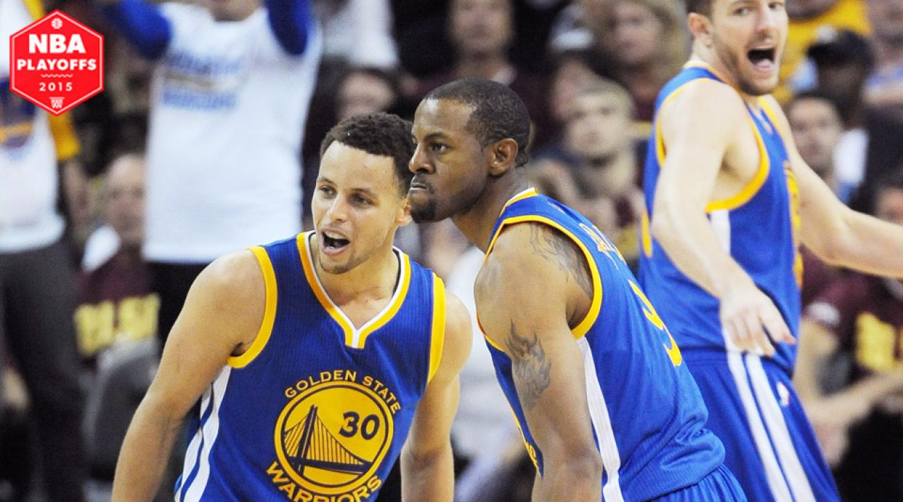 Andre Iguodala started his first game of the season in Warriors' Game 4 NBA Finals victory.