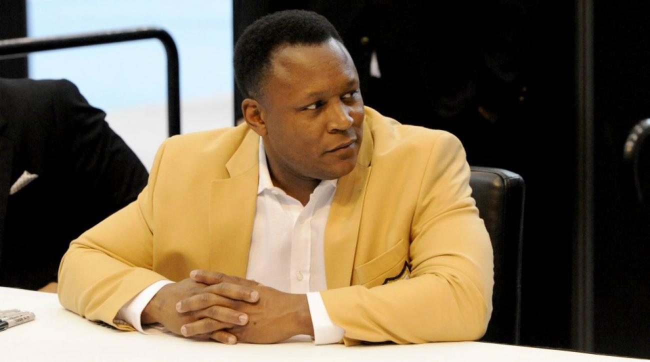Barry Sanders signed urinal sell for $3,000