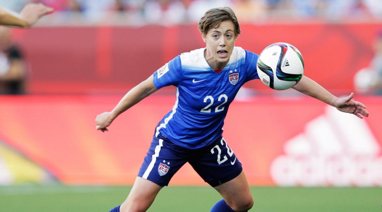 Meghan Klingenberg starred for the USA defense against Sweden in the Women's World Cup.