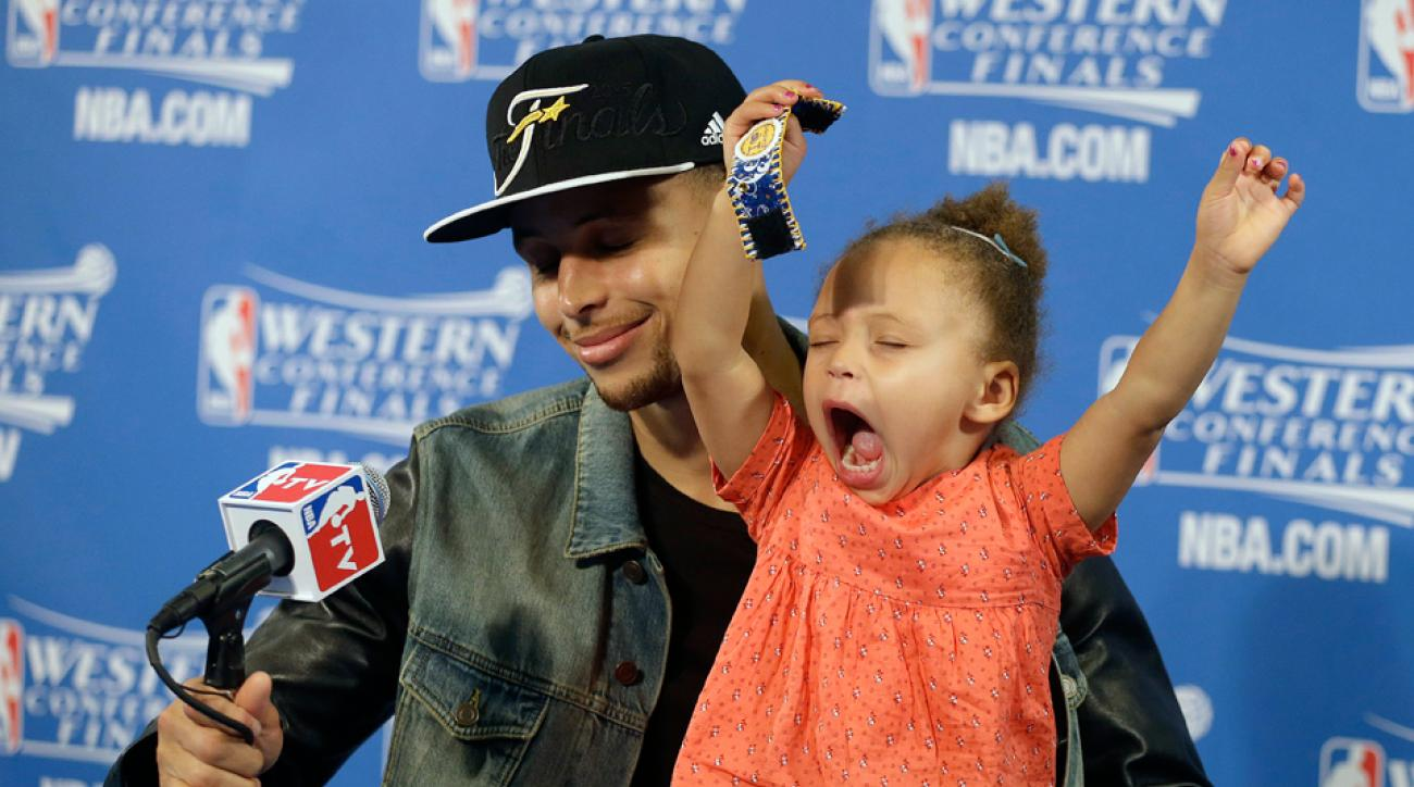 Stephen Curry wife Ayesha daughter Riley Curry